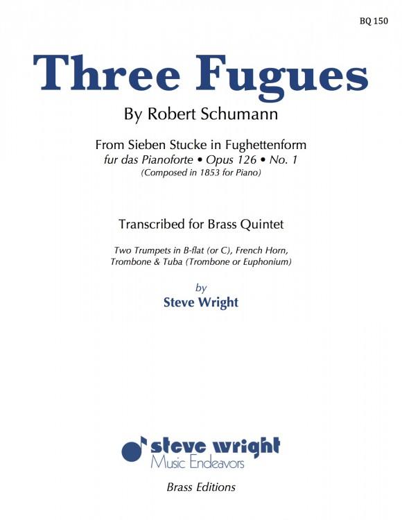 Three Fugues cover